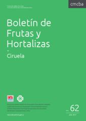 Boletín de Frutas y Hortalizas del Convenio INTA- CMCBA Nº 62 - Ciruela