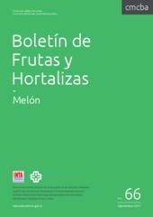 Lun 01 de Ene de 2018  Boletín de Frutas y Hortalizas del Convenio INTA- CMCBA Nº 66 - Melón